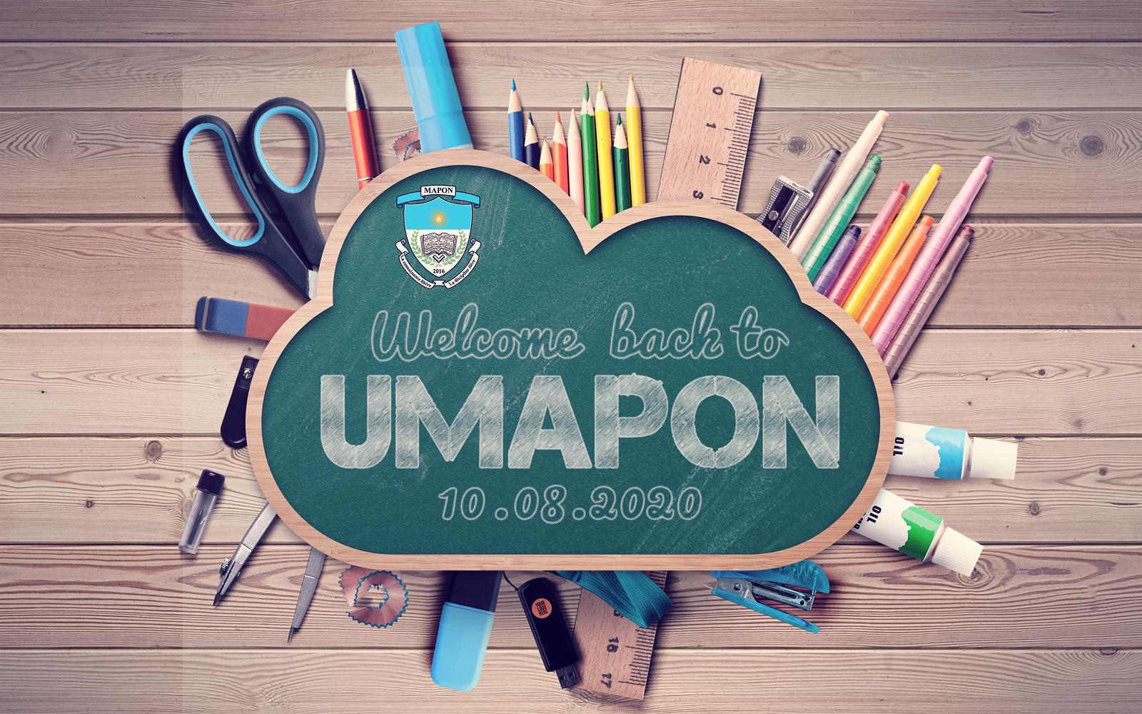 Reprise des cours à l'Université Mapon